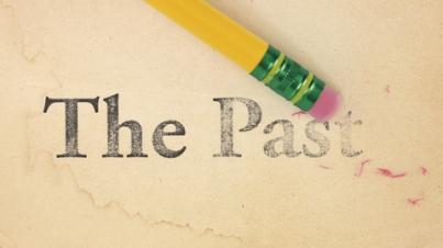 past erase